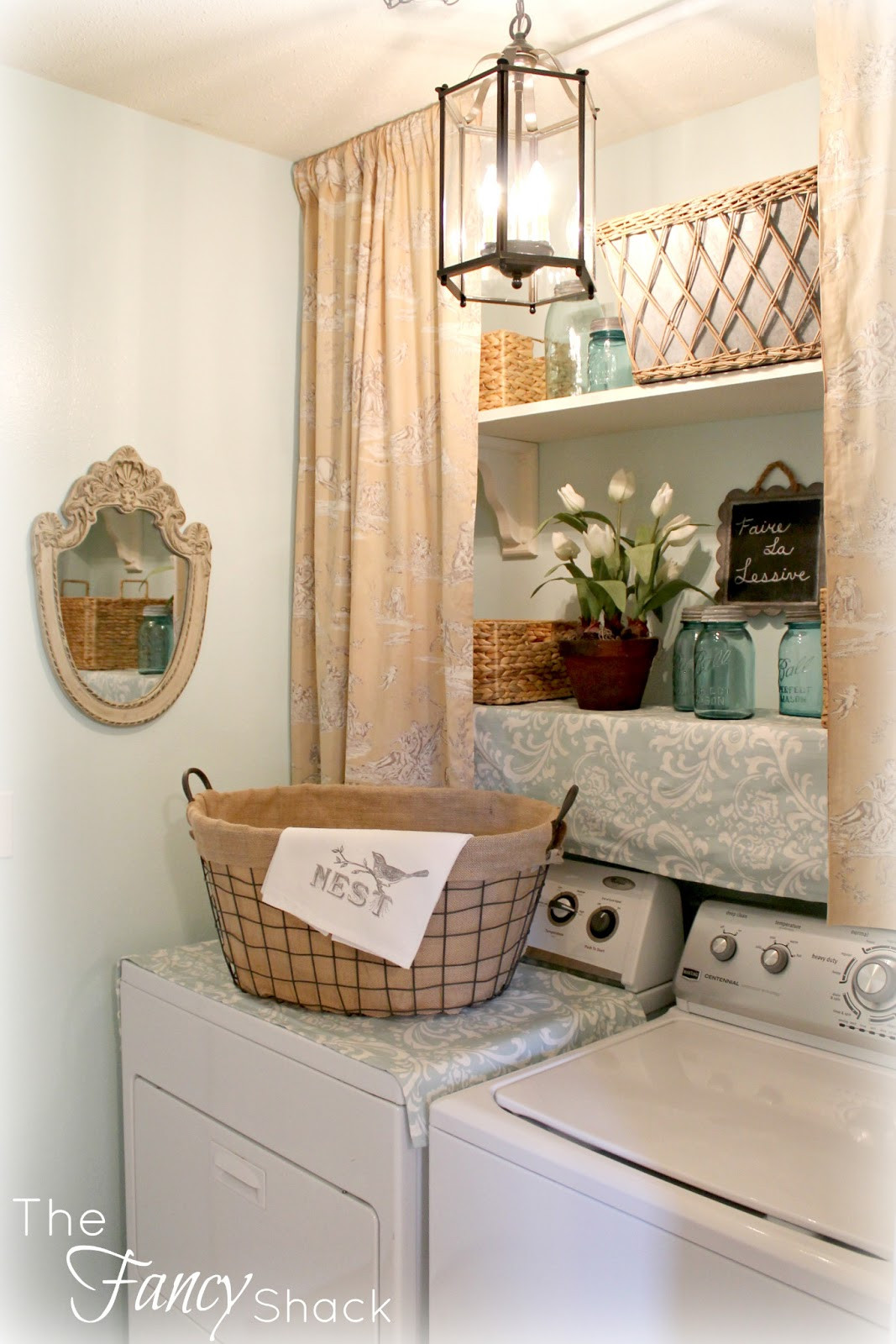 Best ideas about The Laundry Room . Save or Pin The Fancy Shack The Laundry Room Makeover Now.