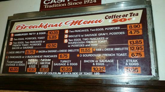 Best ideas about The Pantry Menu . Save or Pin Breakfast Menu Picture of The Original Pantry Los Now.