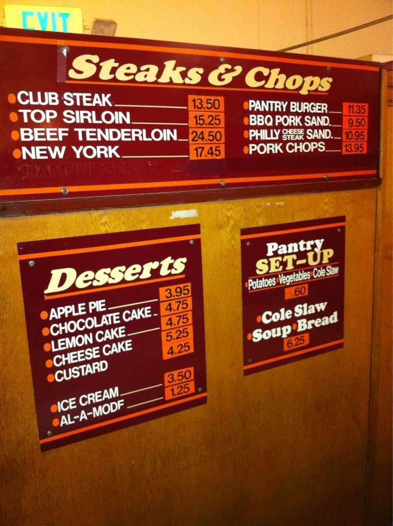 Best ideas about The Pantry Menu . Save or Pin The Original Pantry Cafe Menu Menu for The Original Now.