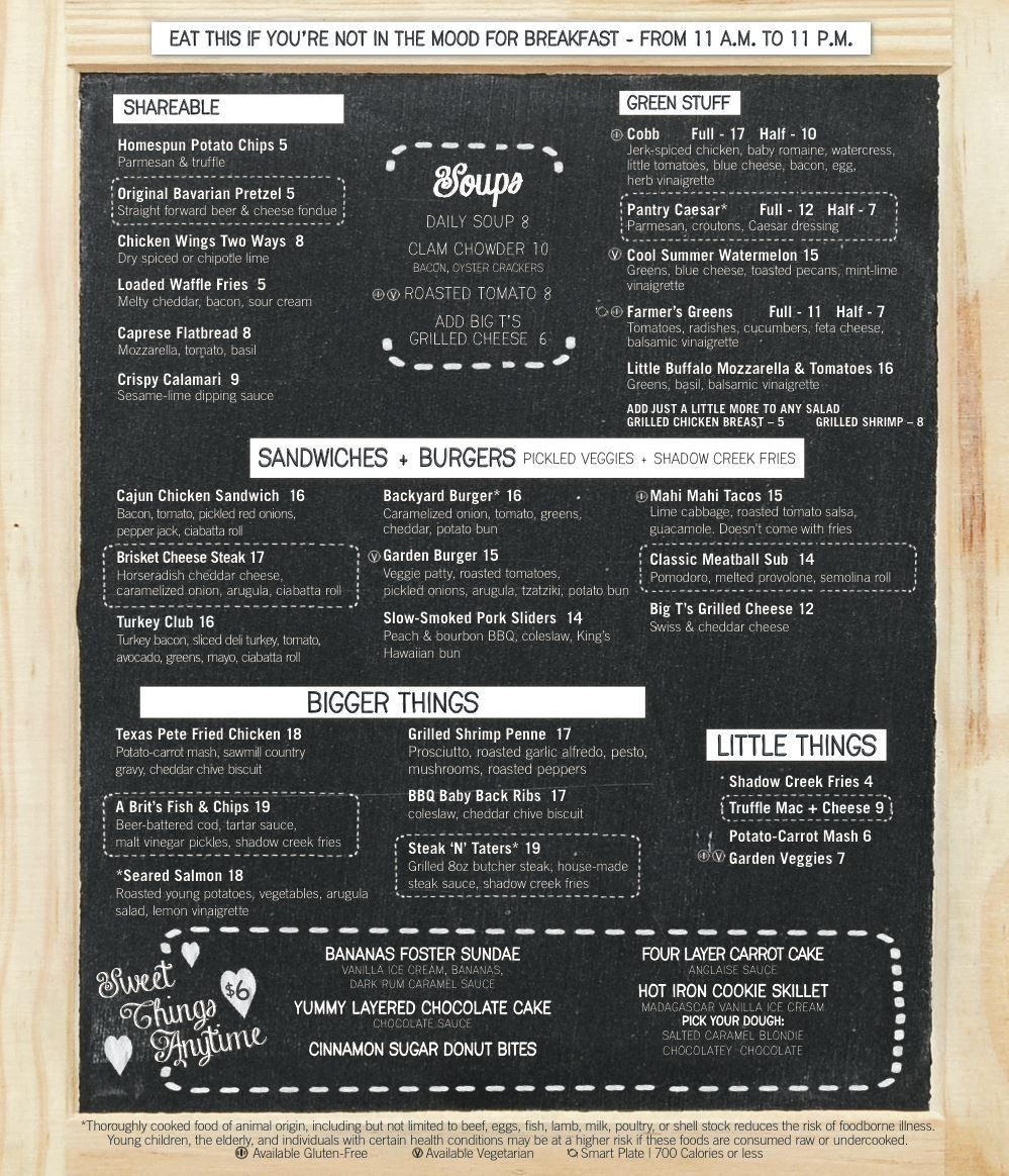 Best ideas about The Pantry Menu . Save or Pin The Pantry 24 7 fort Foods at The Mirage Vegas Food Now.