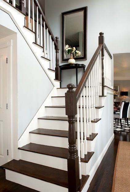 Best ideas about The Staircase 2 . Save or Pin two tone stairs rockin crib Pinterest Now.