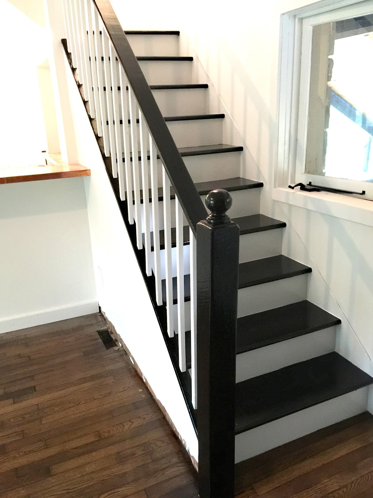 Best ideas about The Staircase 2 . Save or Pin FACCI DESIGNS How to Paint a Staircase Black & White Now.