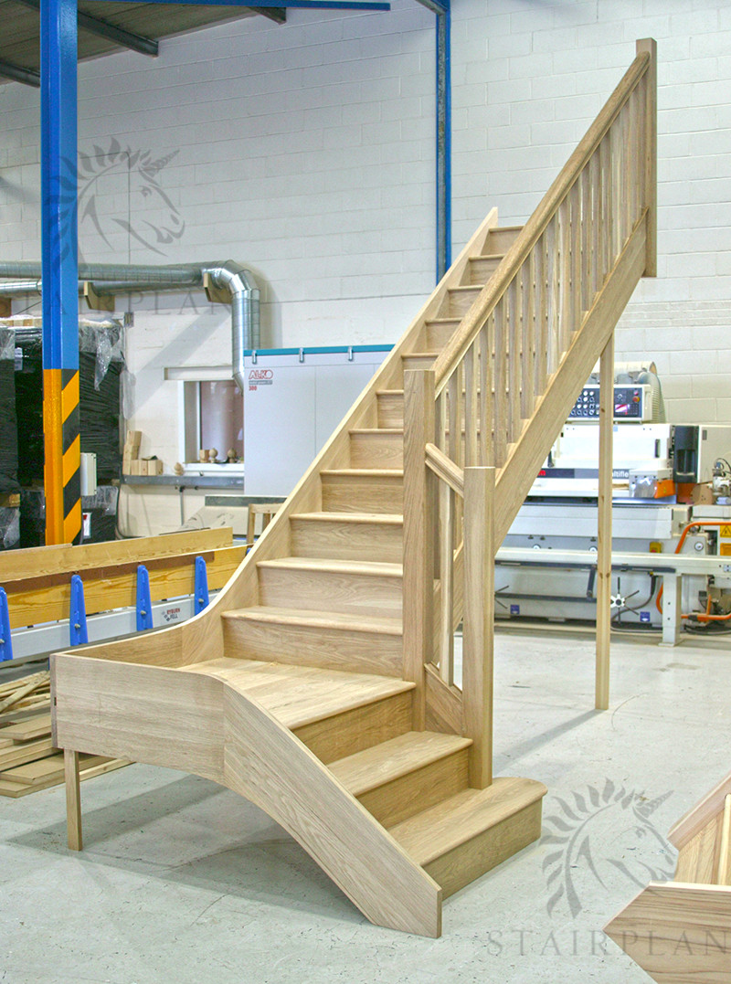 Best ideas about The Staircase 2 . Save or Pin Oak Staircases Made to Size Low line Prices Straight Now.