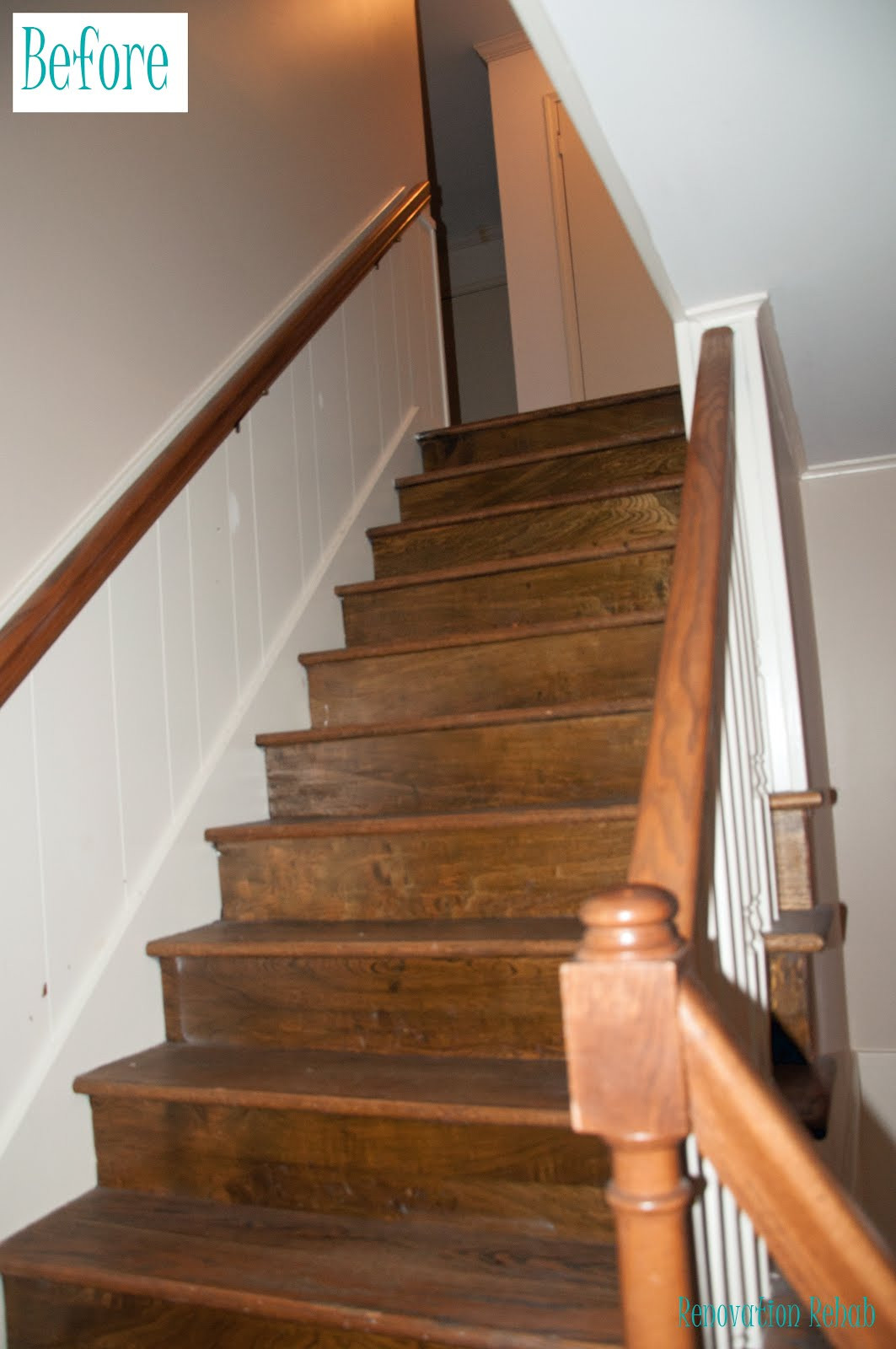 "Best ideas about The Staircase 2 . Save or Pin Renovation Rehab Replacing the Staircase from ""H E Double Now."