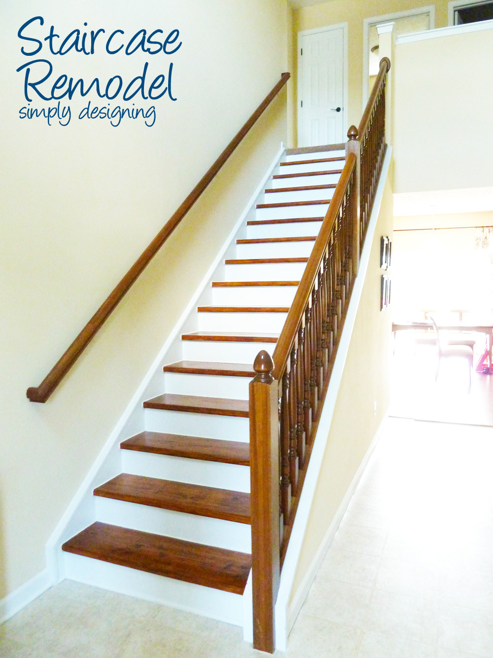Best ideas about The Staircase 2 . Save or Pin Staircase Make Over Part 6 the finishing touches Now.