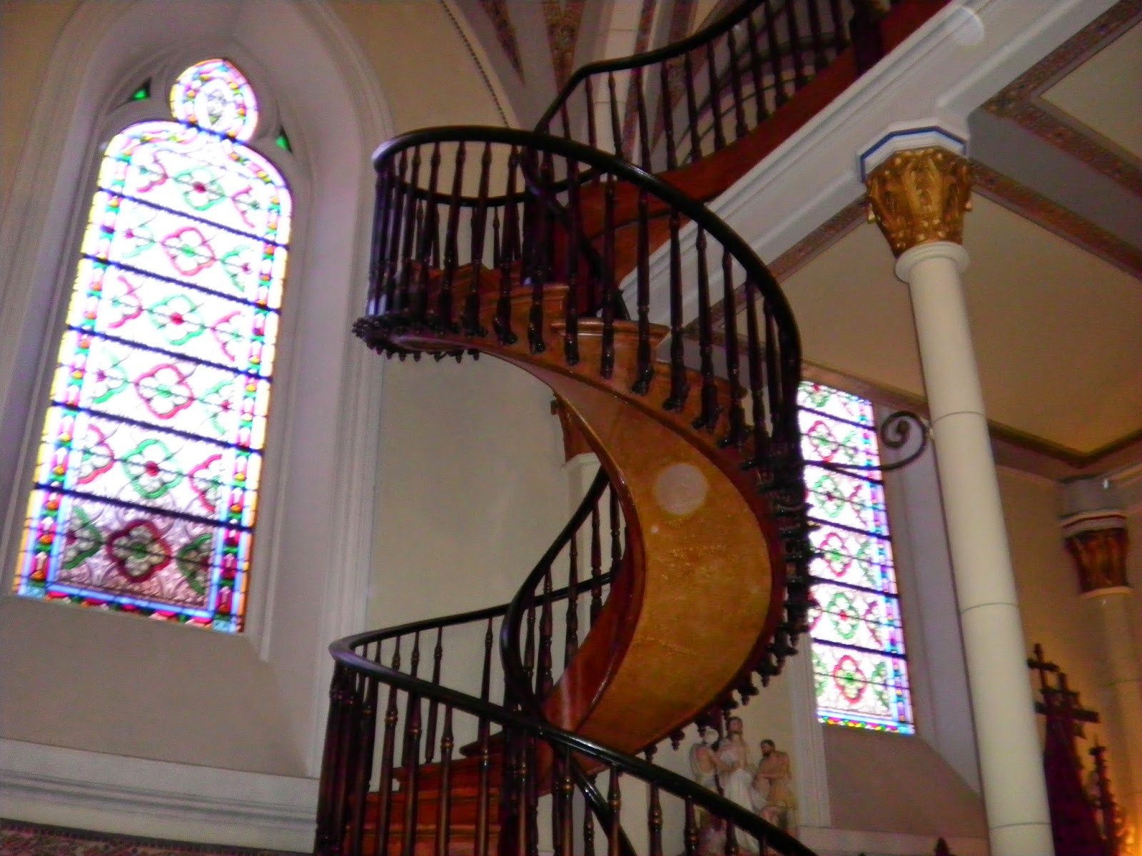 "Best ideas about The Staircase 2 . Save or Pin Western Fictioneers Santa Fé New Mexico's ""Miraculous Now."