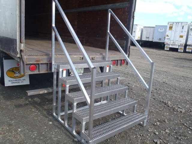 Best ideas about The Staircase Trailer . Save or Pin Storage Trailer Stairs & Mobile Aluminum Steps Now.