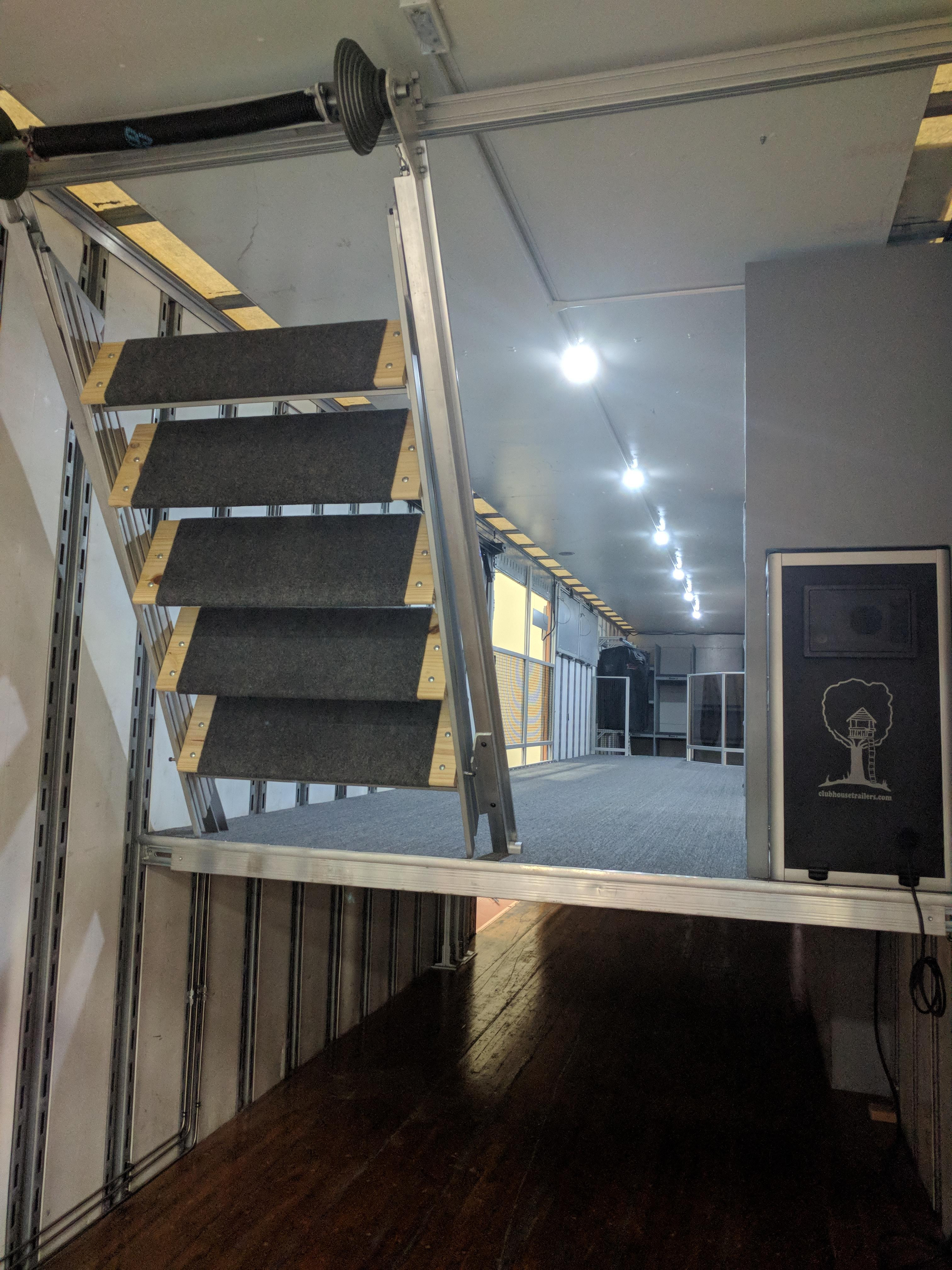 Best ideas about The Staircase Trailer . Save or Pin Retracting Inside Staircase – Clubhouse Trailer pany Now.
