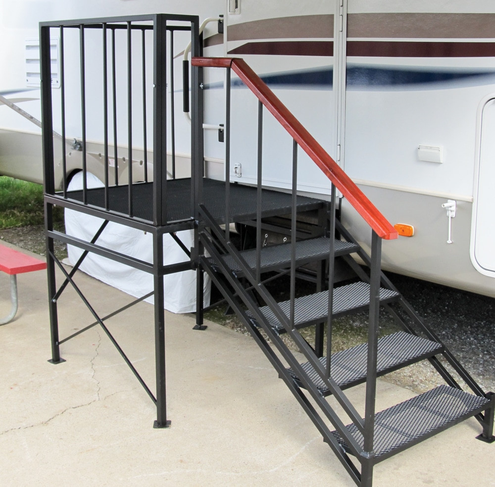 Best ideas about The Staircase Trailer . Save or Pin Deluxe RV Stairs Now.