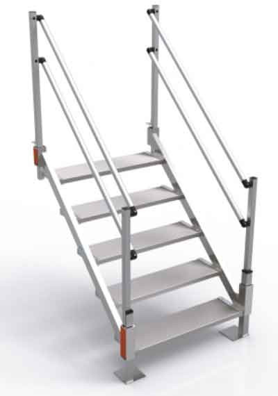 Best ideas about The Staircase Trailer . Save or Pin Aluminum Stairs for Sale Portable Metal Stairs Now.