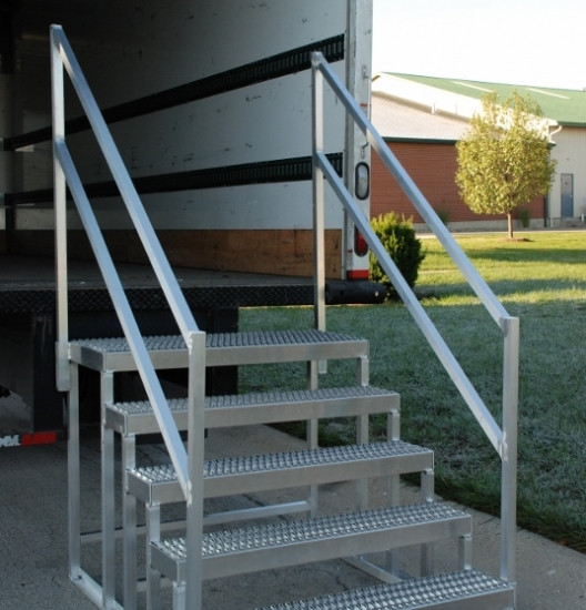 Best ideas about The Staircase Trailer . Save or Pin Portable stairs for semi trailers Download bleach Now.