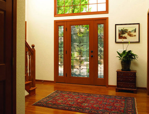 Best ideas about Therma Tru Patio Doors . Save or Pin 5′ French Patio Doors with Blinds Now.
