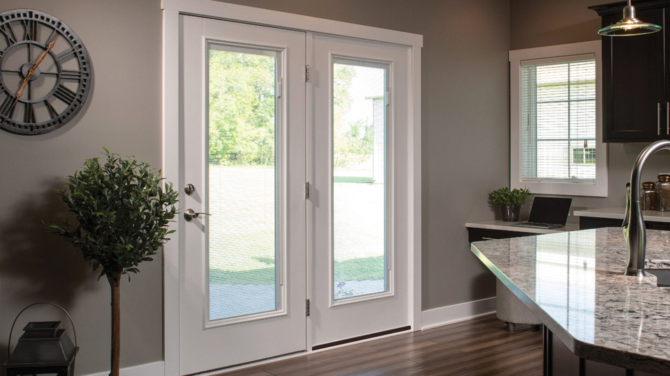 Best ideas about Therma Tru Patio Doors . Save or Pin Entry Patio House to Garage Back of House and Garage Now.