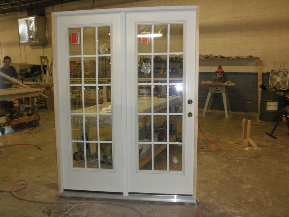 "Best ideas about Therma Tru Patio Doors . Save or Pin therma tru patio door 5068 double 62 1 2""X82"" grills Now."