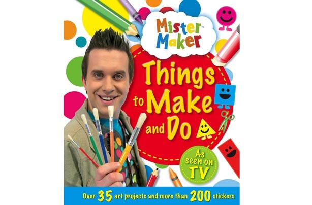 Best ideas about Things To Make With Kids . Save or Pin 10 best activity books for kids Mister Maker Things to Now.