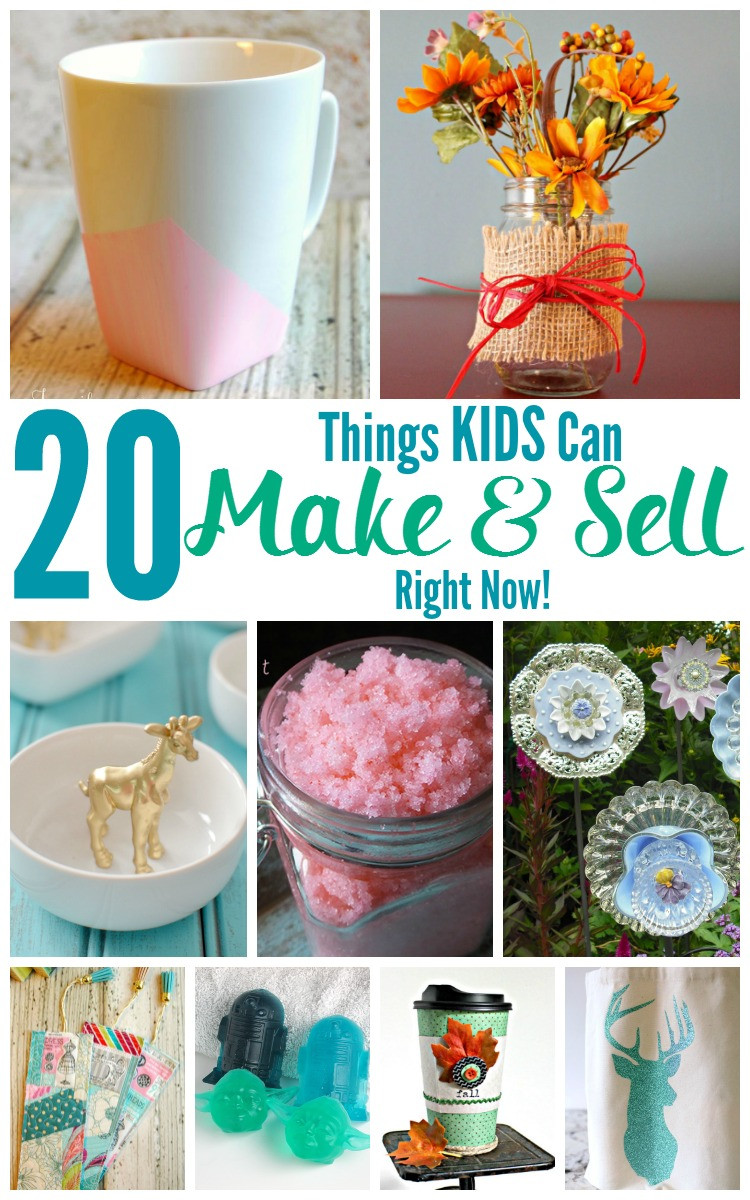 Best ideas about Things To Make With Kids . Save or Pin 20 Things KIDS Can Make and Sell Right Now Jenn s RAQ Now.