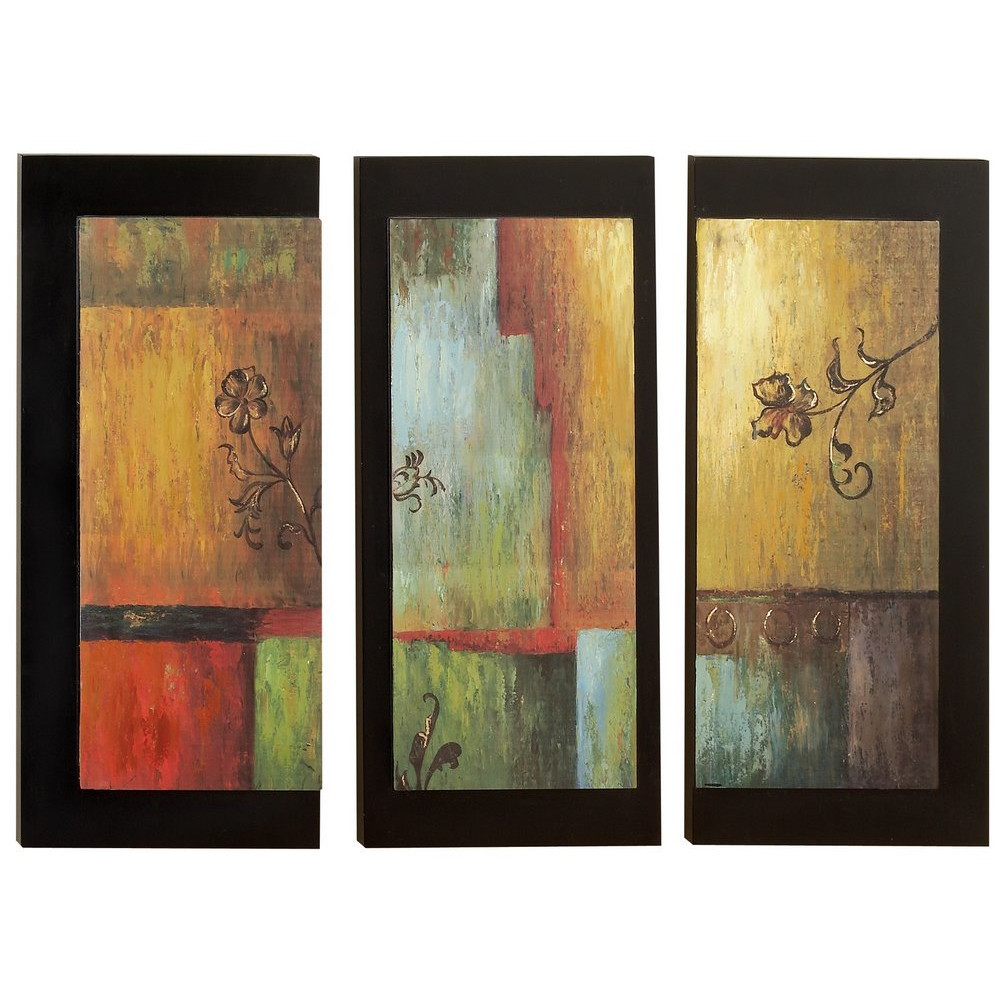 Best ideas about Three Piece Wall Art . Save or Pin Aspire 3 Piece Modern Wall Decor Set & Reviews Now.