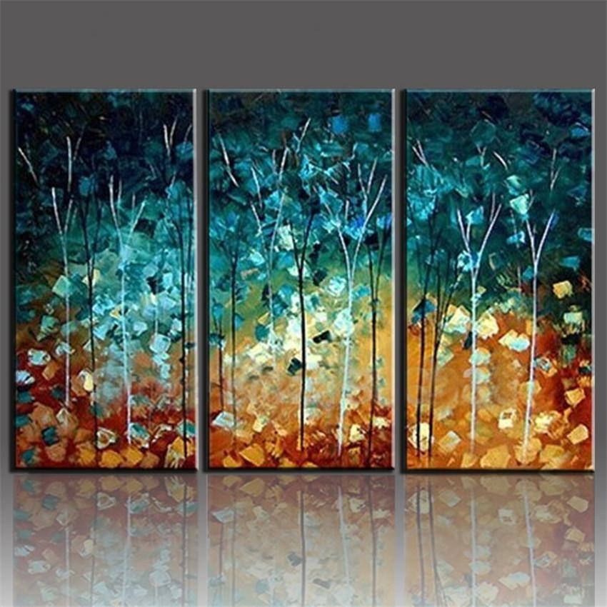 Best ideas about Three Piece Wall Art . Save or Pin 20 Best Collection of Canvas Wall Art 3 Piece Sets Now.