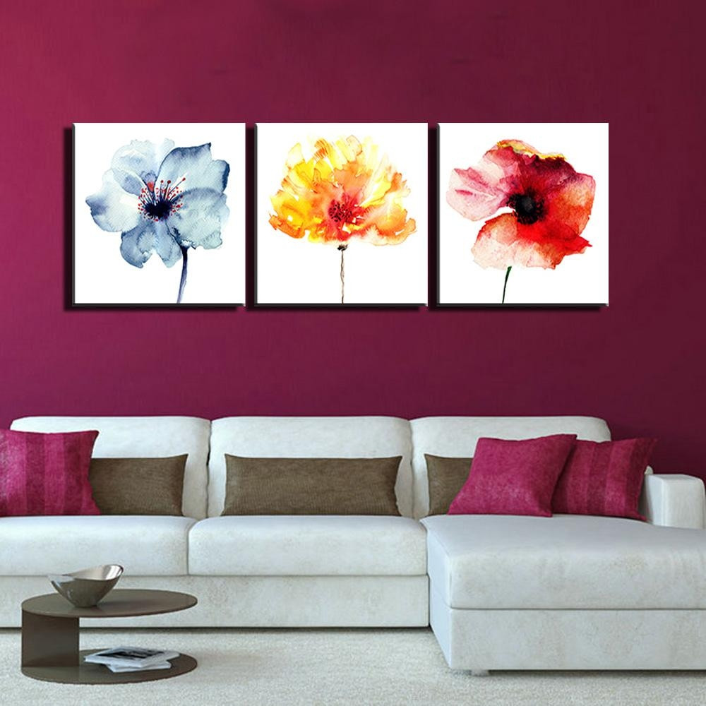 Best ideas about Three Piece Wall Art . Save or Pin 20 s 3 Piece Modern Wall Art Now.