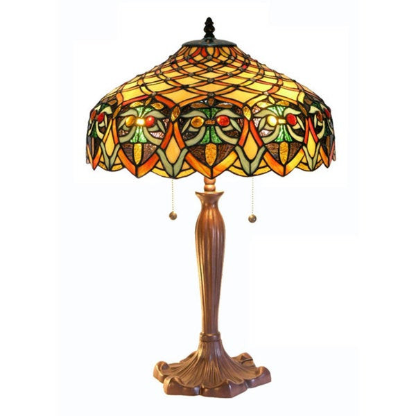 Best ideas about Tiffany Style Desk Lamp . Save or Pin Shop Tiffany style Table Lamp Free Shipping Today Now.