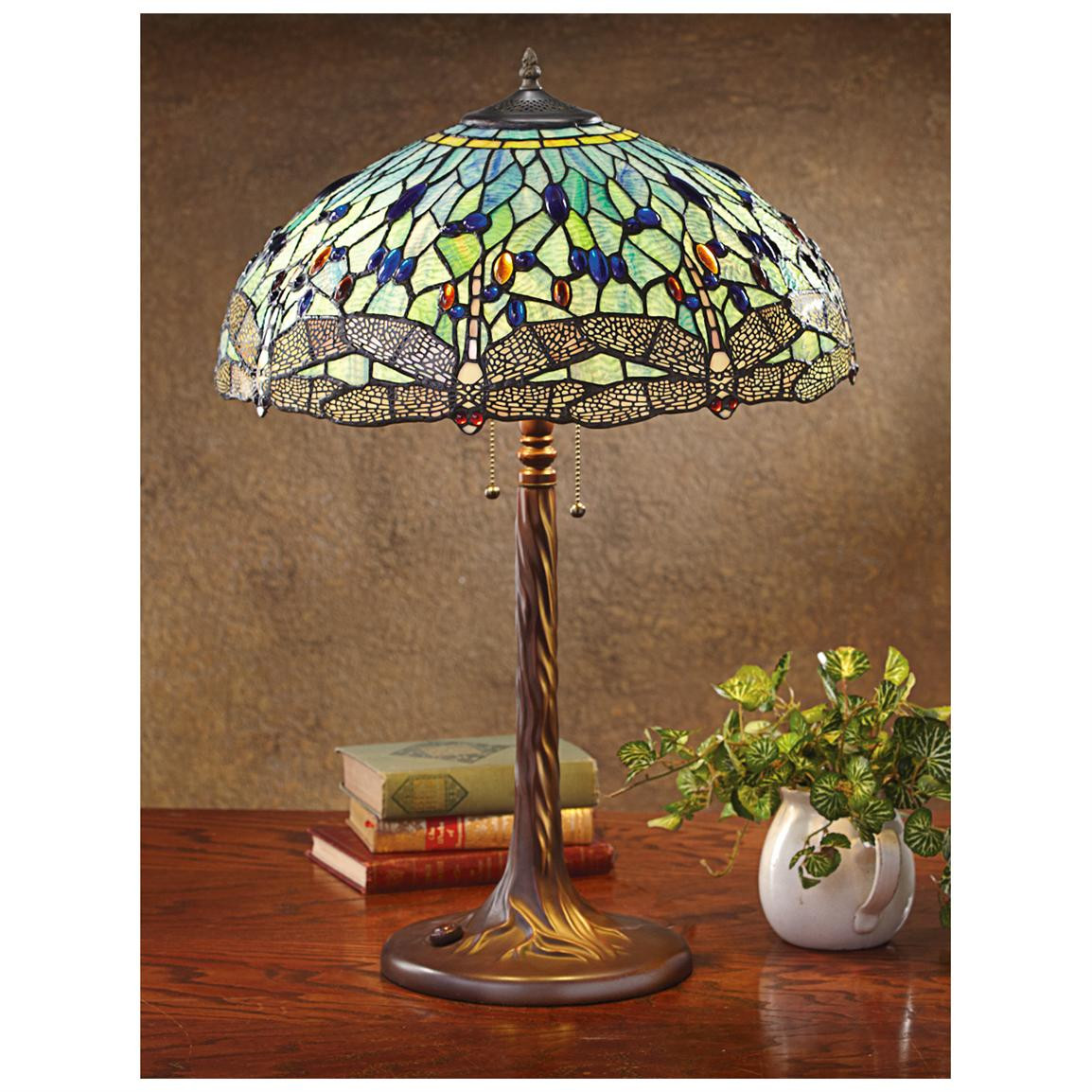 Best ideas about Tiffany Style Desk Lamp . Save or Pin Dragonfly Tiffany style Table Lamp Lighting at Now.