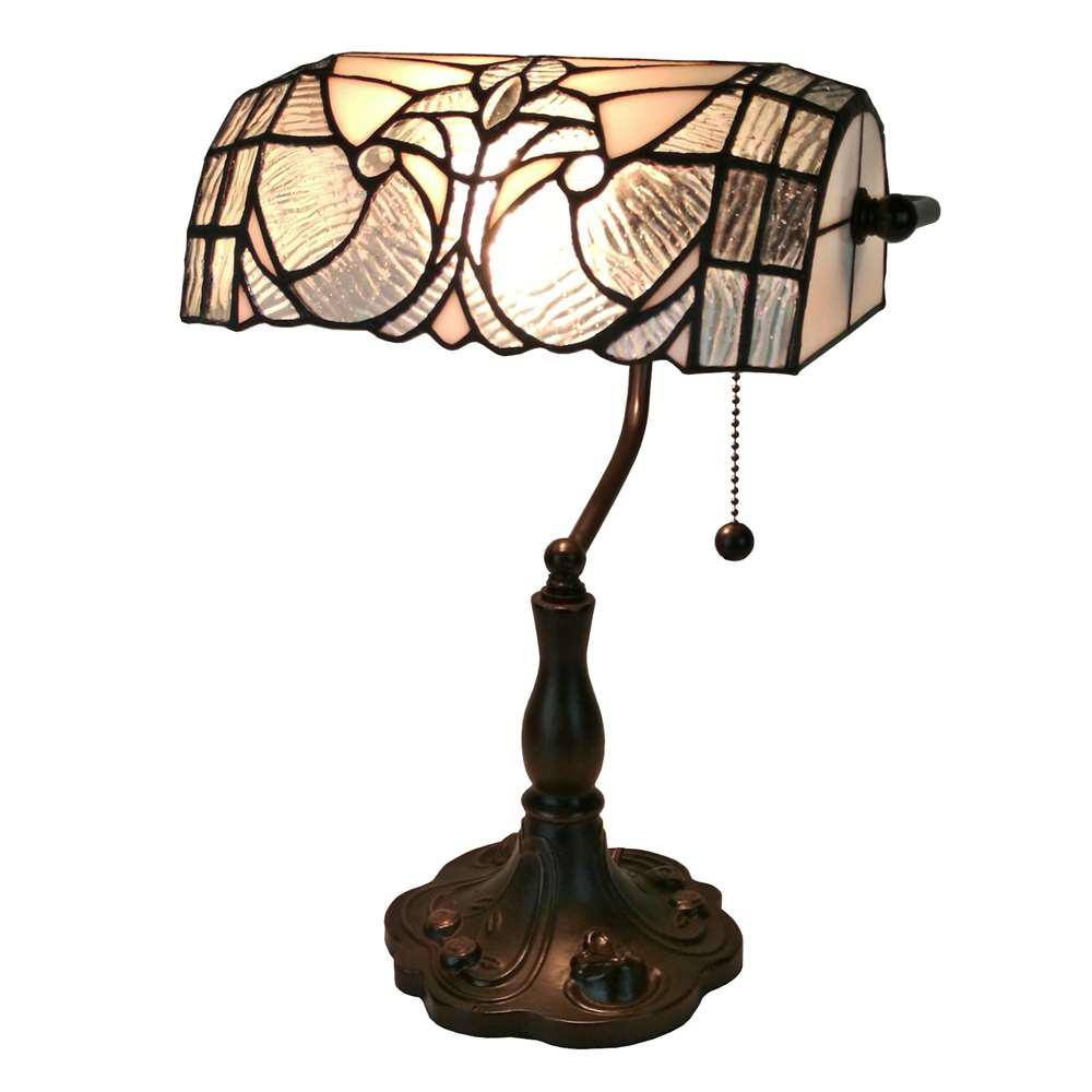 Best ideas about Tiffany Style Desk Lamp . Save or Pin Amora Lighting 13 in Multicolored Tiffany Style Floral Now.