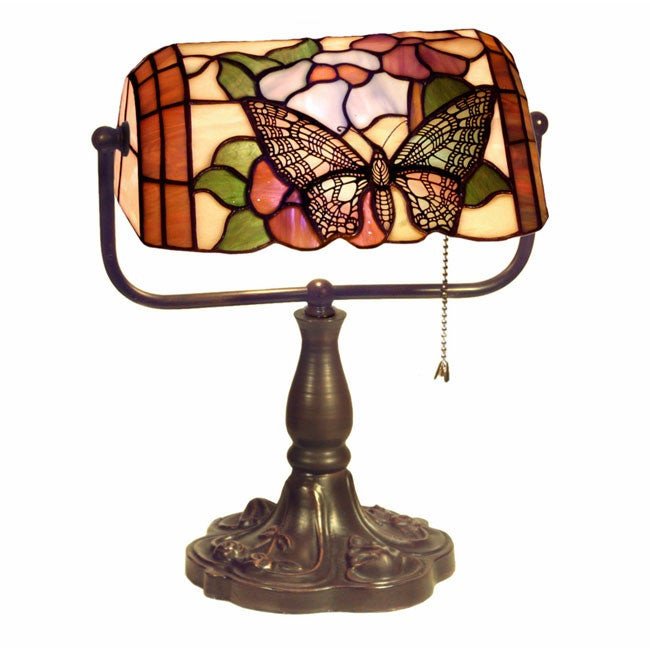 Best ideas about Tiffany Style Desk Lamp . Save or Pin Shop Tiffany Style Banker Butterfly Desk Lamp Free Now.