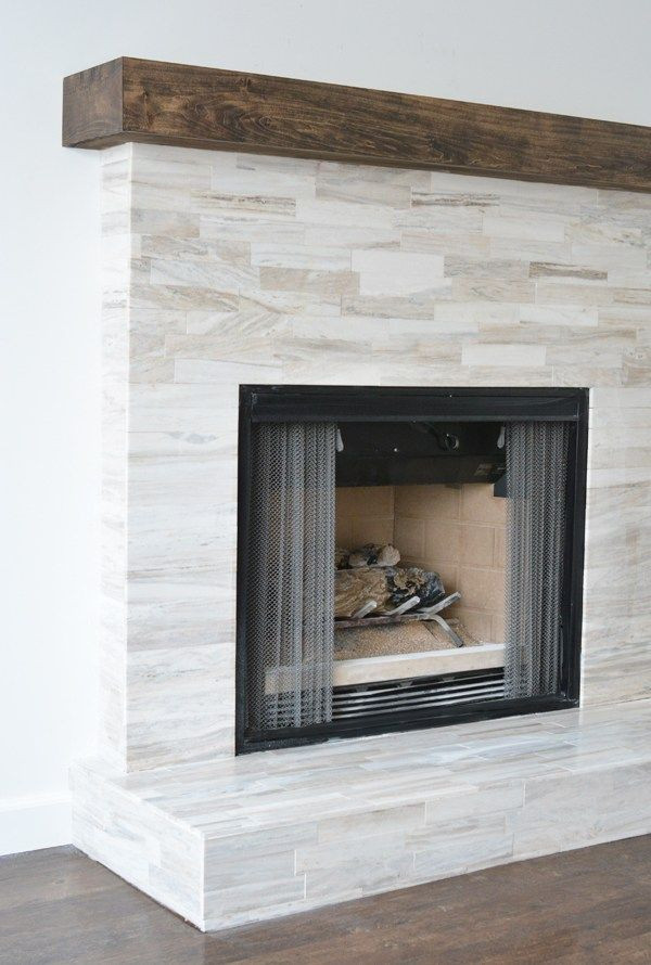 Best ideas about Tile For Fireplace . Save or Pin 27 Stunning Fireplace Tile Ideas for your Home Now.