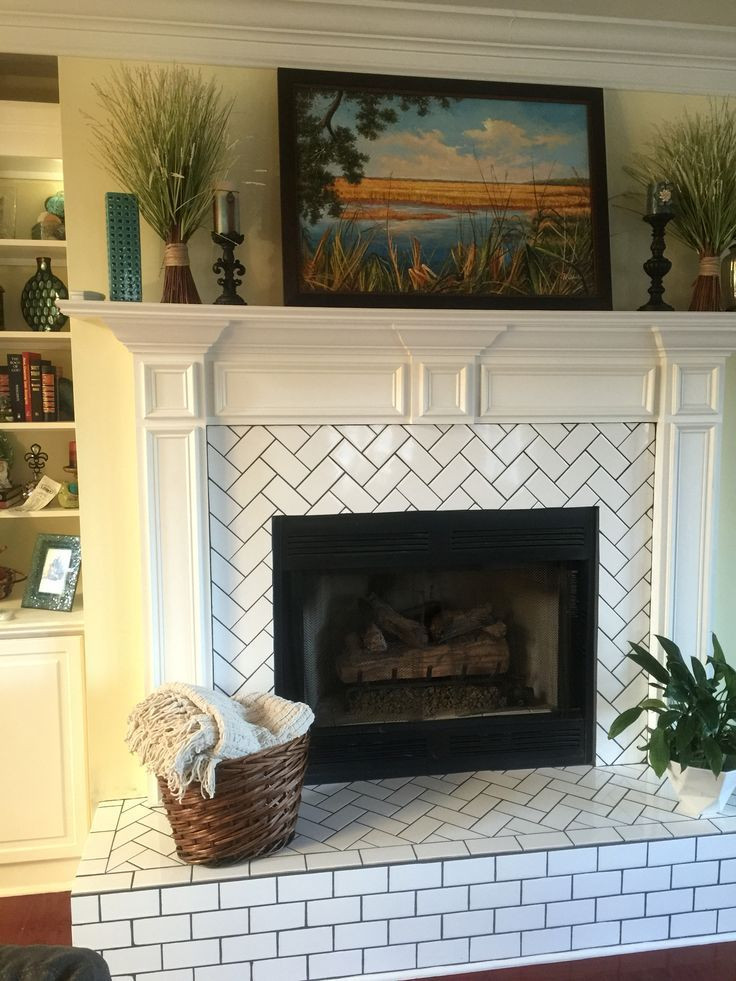 Best ideas about Tile For Fireplace . Save or Pin 25 best ideas about Fireplace tile surround on Pinterest Now.