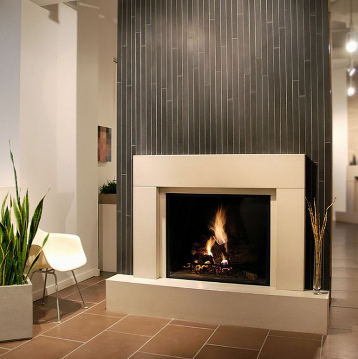 Best ideas about Tile For Fireplace . Save or Pin 25 Stunning Fireplace Ideas to Steal Now.