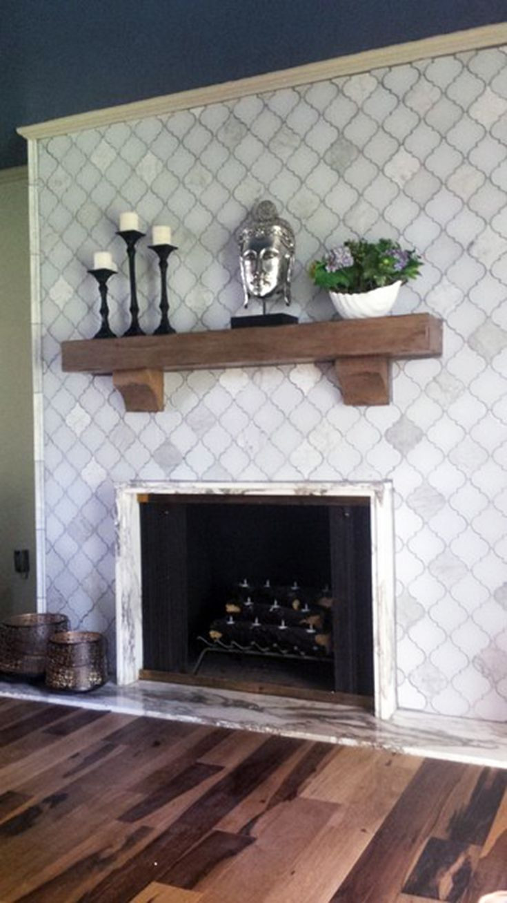 Best ideas about Tile For Fireplace . Save or Pin 25 best ideas about Glass Tile Fireplace on Pinterest Now.