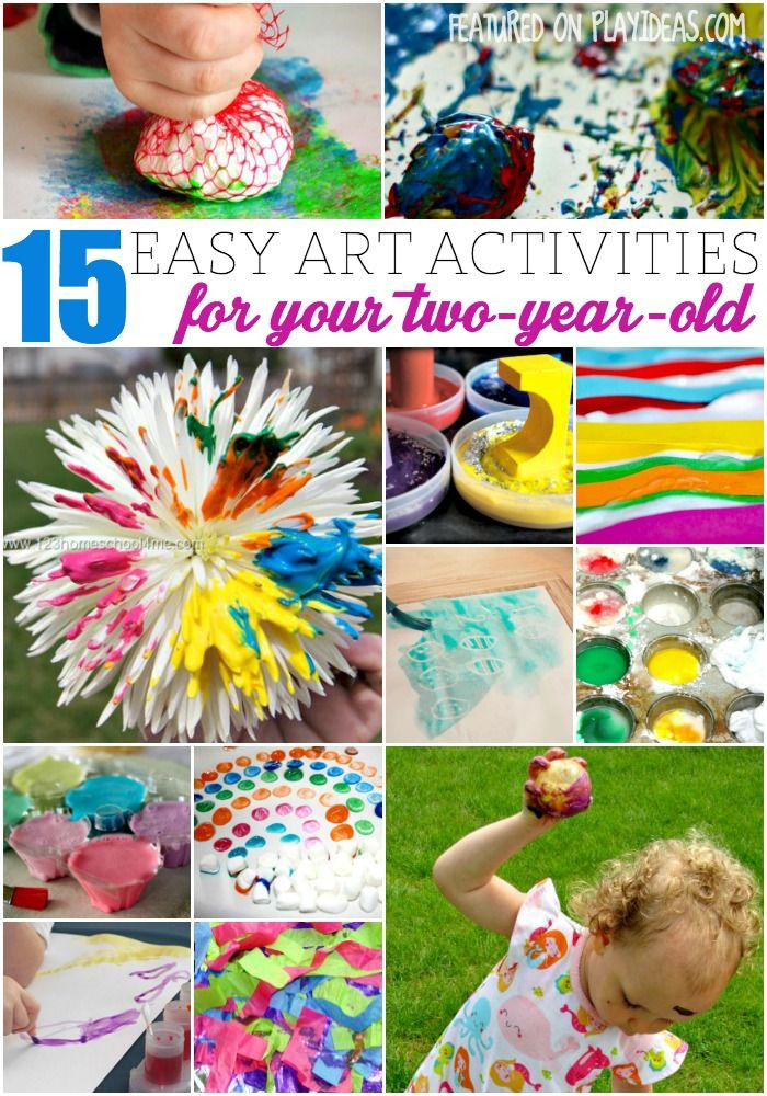 Best ideas about Toddler Craft Ideas 2 Year Old . Save or Pin 15 Easy Art Activities For Two Year Olds Now.