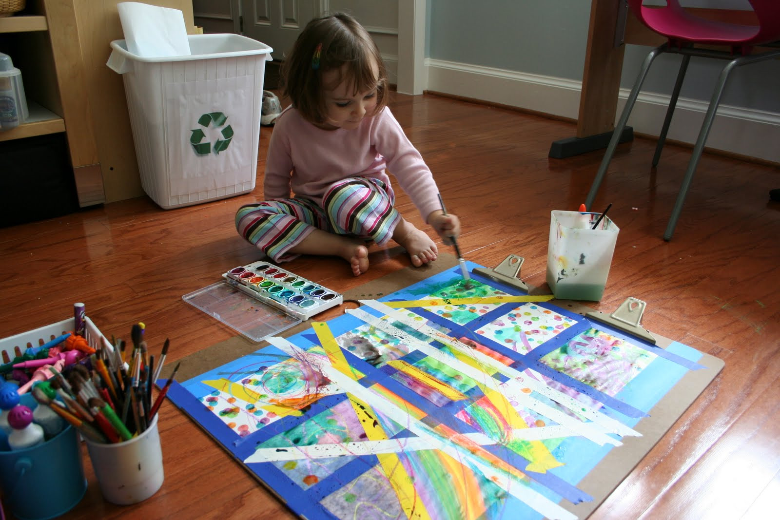 Best ideas about Toddler Craft Ideas 2 Year Old . Save or Pin Pink and Green Mama Making Art At Home My Favorite Art Now.