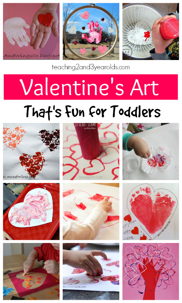 Best ideas about Toddler Craft Ideas 2 Year Old . Save or Pin 15 of the Best Toddler Valentine Crafts Now.