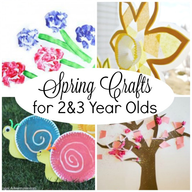 Best ideas about Toddler Craft Ideas 2 Year Old . Save or Pin Spring Crafts for 2 Year Olds How Wee Learn Now.