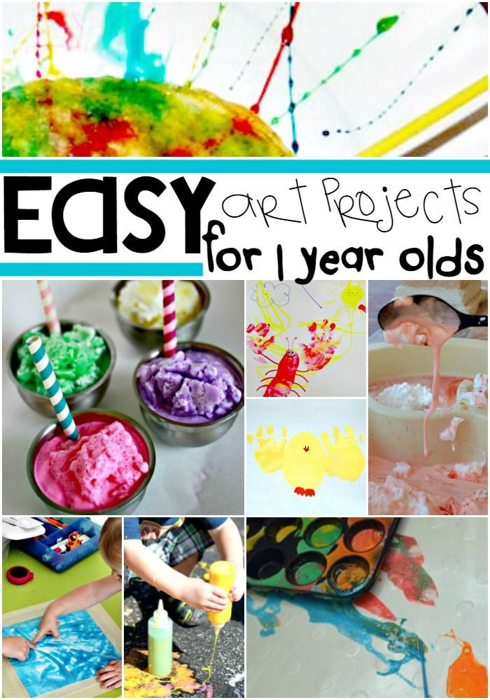 Best ideas about Toddler Craft Ideas 2 Year Old . Save or Pin 16 Easy Art Projects For Your 1 Year Old Now.