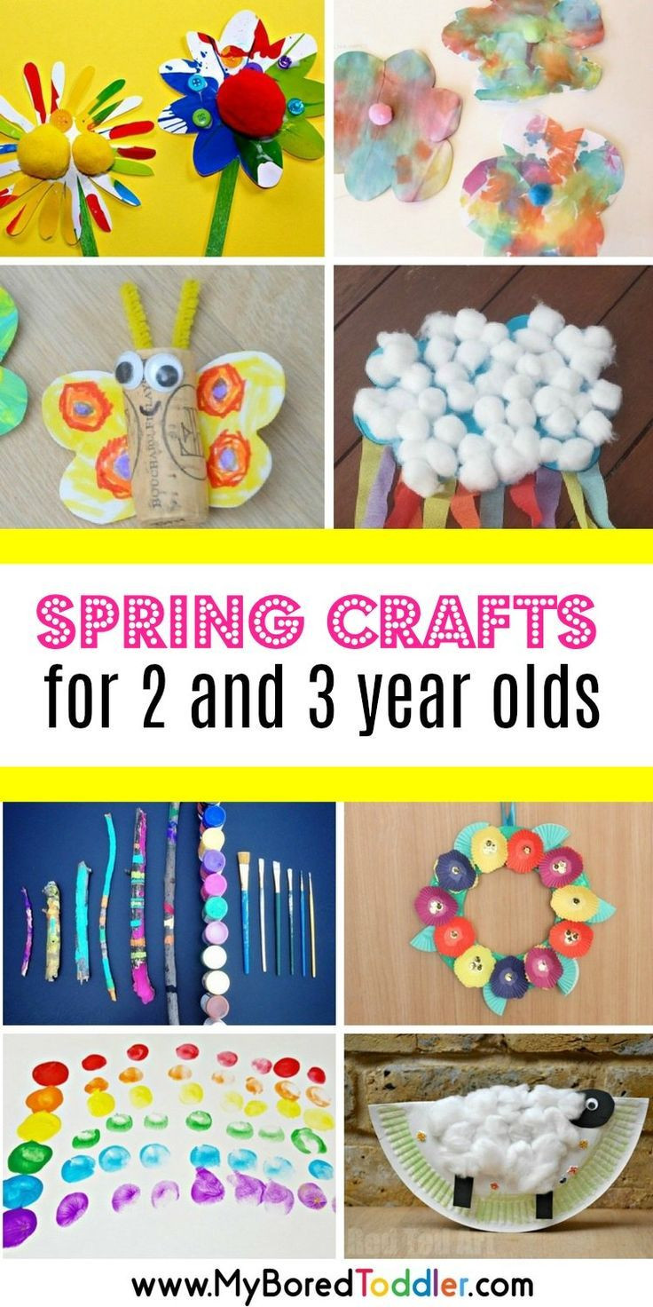 Best ideas about Toddler Craft Ideas 2 Year Old . Save or Pin Spring Crafts for 2 and 3 year olds Now.