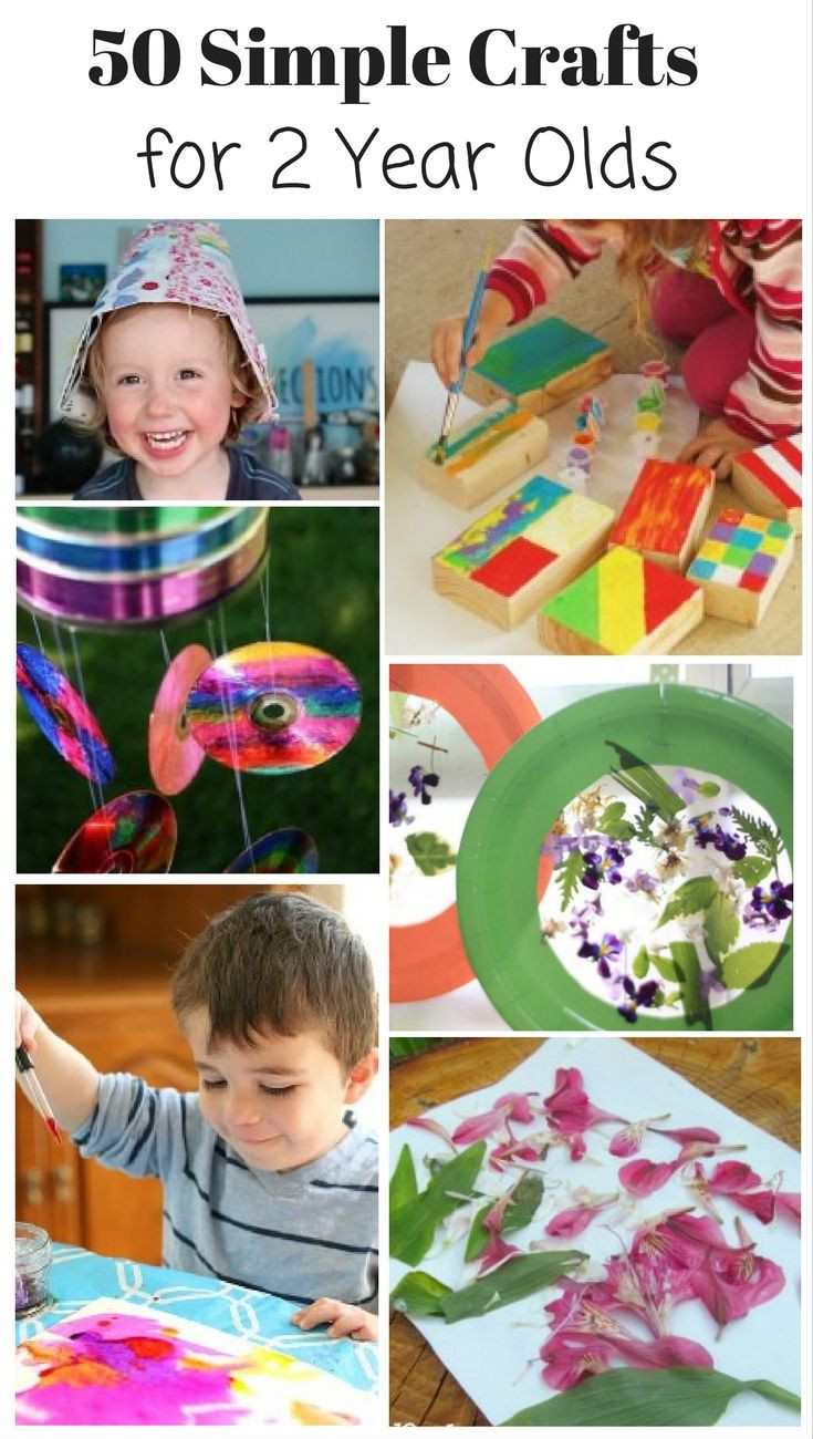 Best ideas about Toddler Craft Ideas 2 Year Old . Save or Pin 50 Crafts for 2 Year Olds Now.