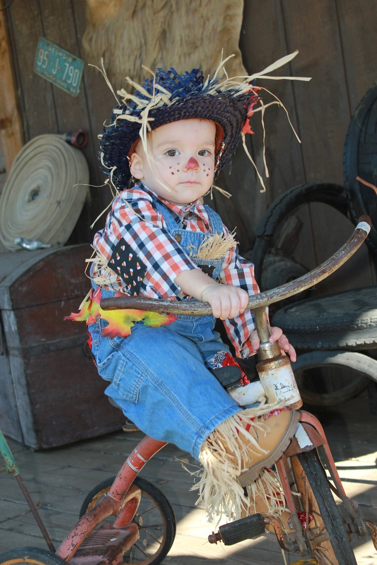 Best ideas about Toddler Scarecrow Costume DIY . Save or Pin DIY Toddler Scarecrow Costume Fall Pinterest Now.