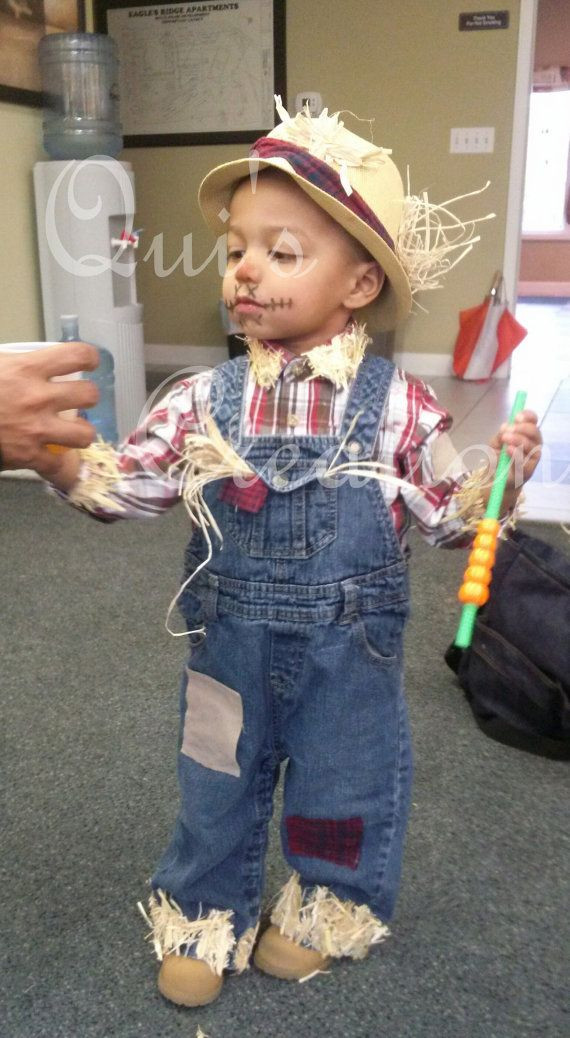Best ideas about Toddler Scarecrow Costume DIY . Save or Pin Scarecrow Costume Scarecrow Hat Kids Costume Toddler Now.