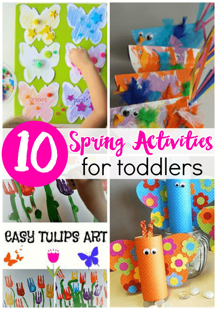 Best ideas about Toddlers Crafts For Spring . Save or Pin 10 Spring Activities for Toddlers Now.