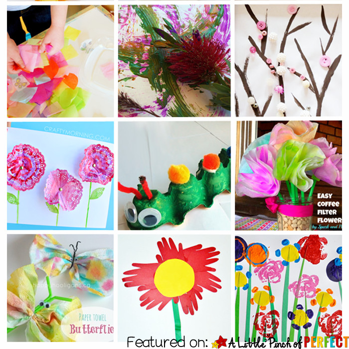 Best ideas about Toddlers Crafts For Spring . Save or Pin 15 Easy Spring Crafts for Toddlers & Kids Now.