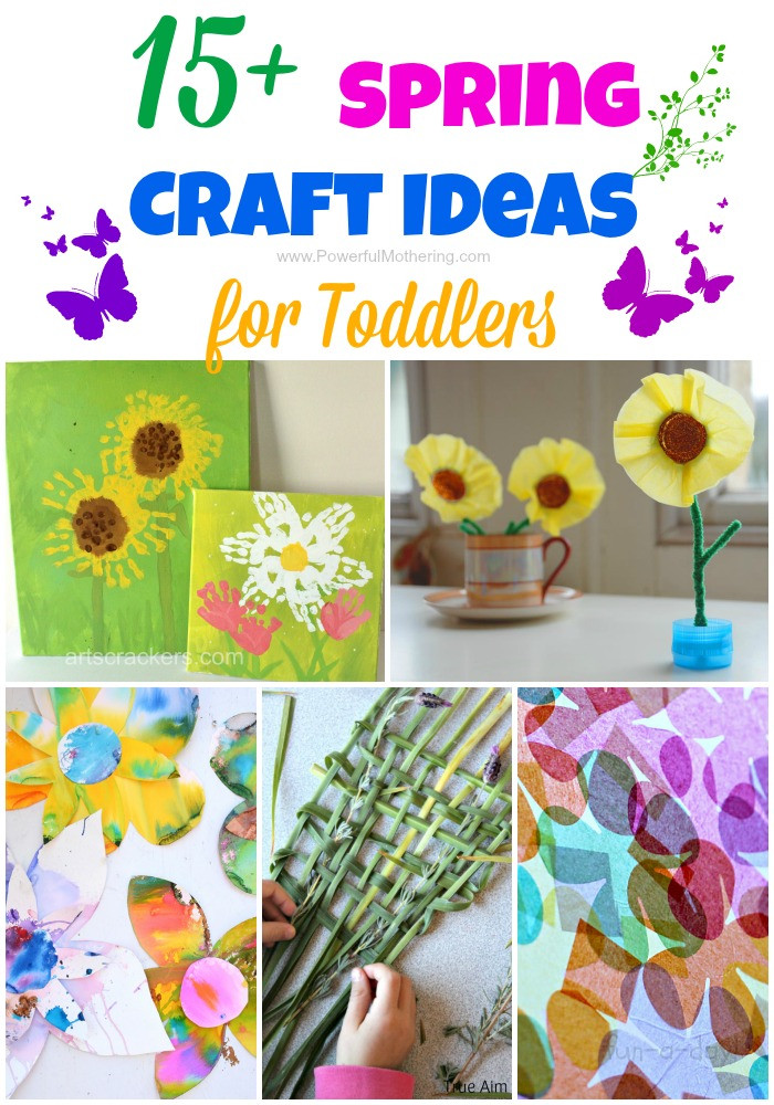 Best ideas about Toddlers Crafts For Spring . Save or Pin 15 Spring Craft Ideas for Toddlers Now.
