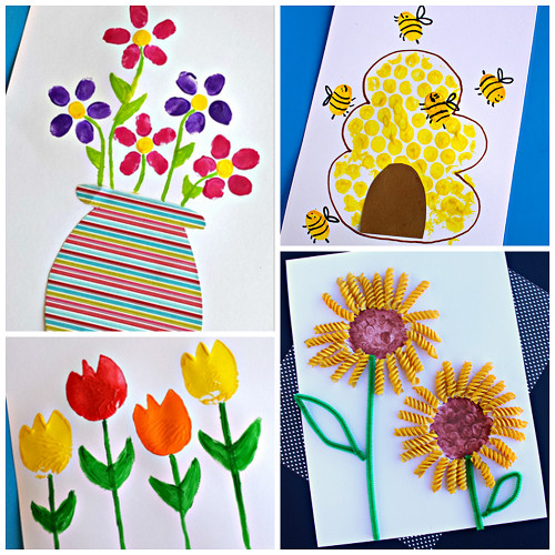 Best ideas about Toddlers Crafts For Spring . Save or Pin Beautiful Spring Crafts for Kids to Create Crafty Morning Now.