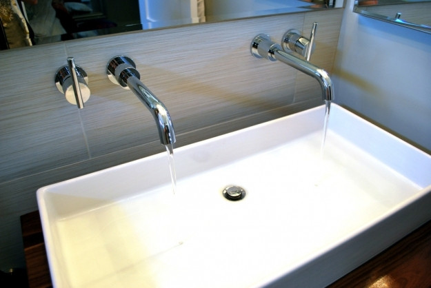 Best ideas about Top Mount Bathroom Sink . Save or Pin Surprising Inspiration Bathroom Sink Top Mount Black Now.