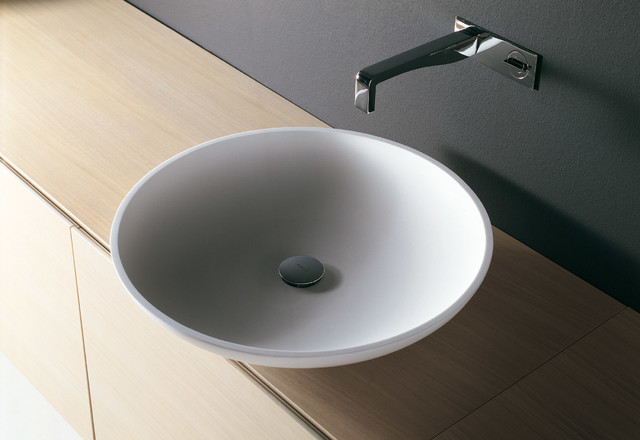 Best ideas about Top Mount Bathroom Sink . Save or Pin MIMO top mount sink Modern Bathroom Sinks miami by Now.