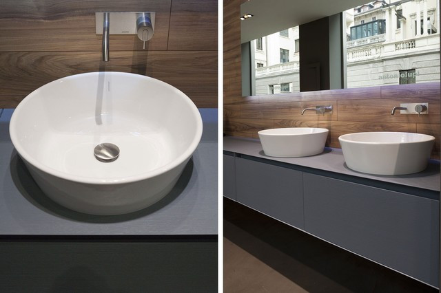 Best ideas about Top Mount Bathroom Sink . Save or Pin PILA top mount sink Modern Bathroom Sinks miami by Now.