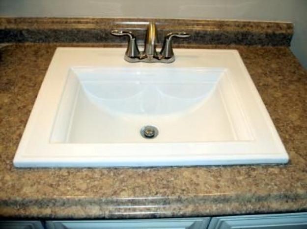 Best ideas about Top Mount Bathroom Sink . Save or Pin Kohler Memoirs White Topmount Bath Sink Bathroom Pinterest Now.