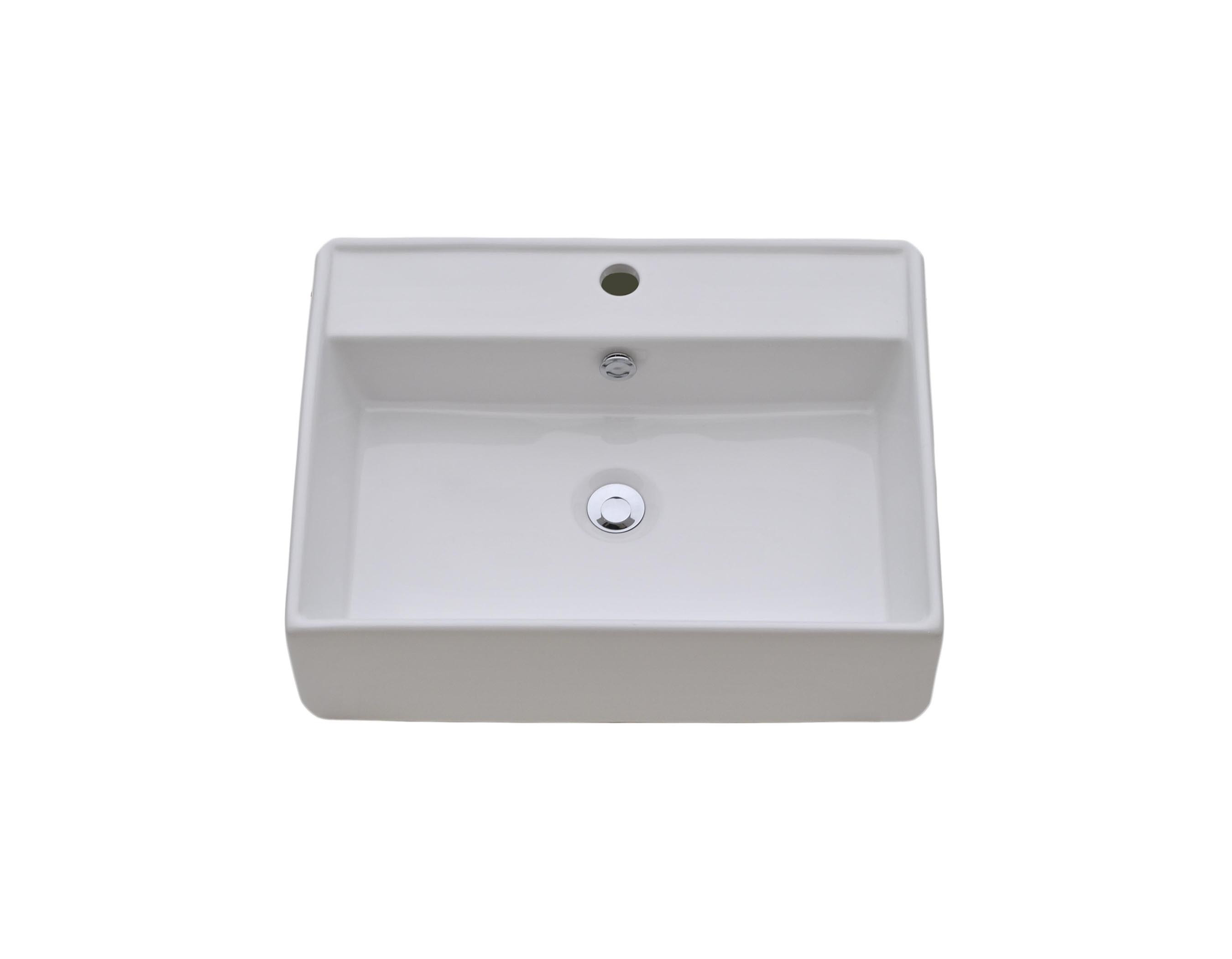 Best ideas about Top Mount Bathroom Sink . Save or Pin CVS 2318 Top Mount Bathroom Sink Now.