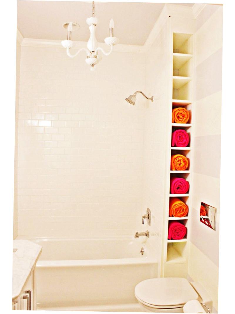 Best ideas about Towel Storage Ideas For Small Bathrooms . Save or Pin Bathroom Towel Storage Ideas Creative 2016 Ellecrafts Now.